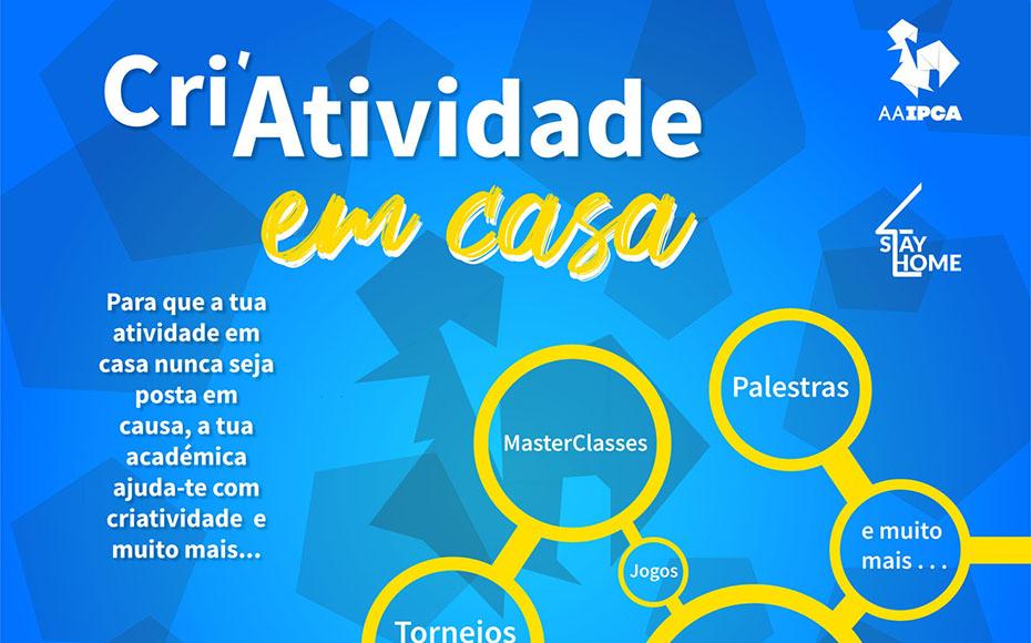 """AAIPCA lança o projeto """"Cri'Atividade em casa"""""""