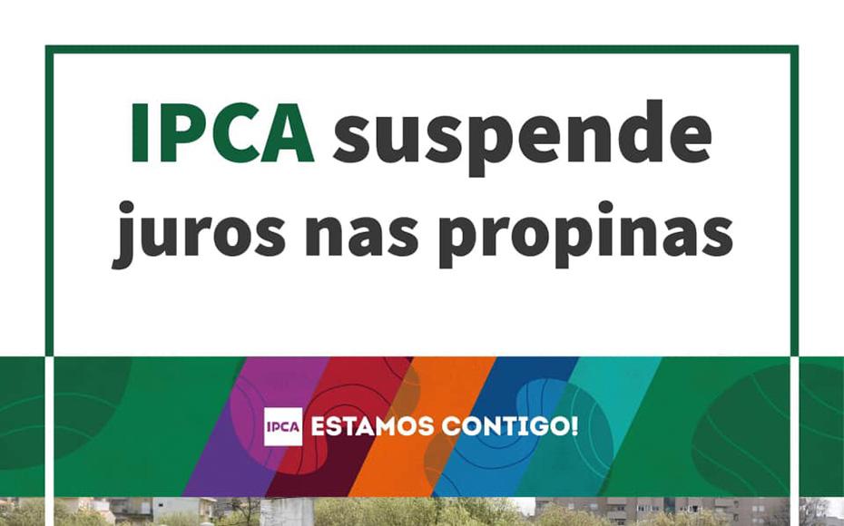 IPCA suspende juros nas propinas